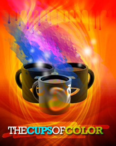 Cups of colors