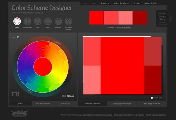 Online Tool: Menentukan Warna Kombinasi - IDEsainesia