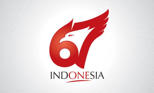 Logo 67 Tahun RI