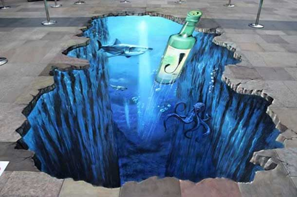 Inspirasi 3D Street Art Paintings