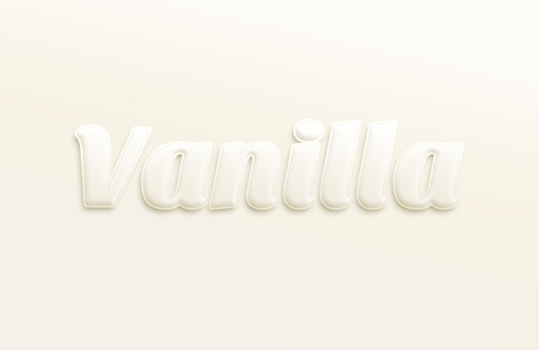 Vanilla-Text-Effect