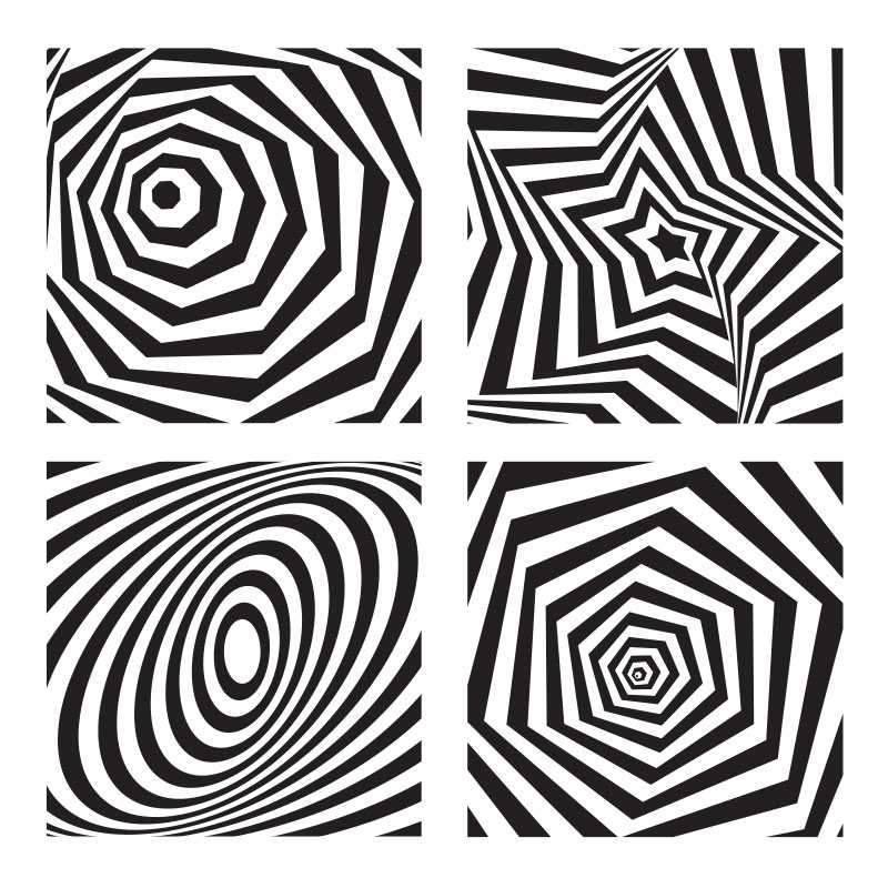 op art sample